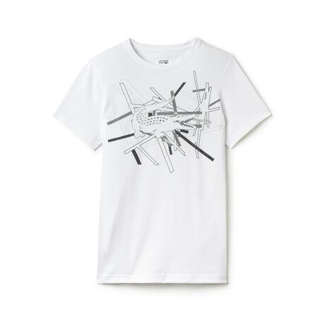 Men's SPORT Technical Jersey Crocodile T-Shirt
