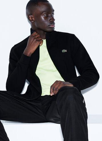 Men's SPORT Full Zip Fleece Tennis Sweatshirt