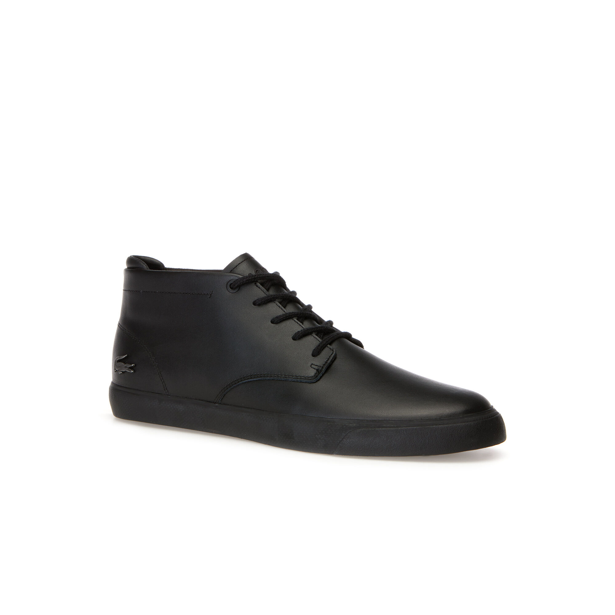 Men Get Cheap Latest Series Lacoste All Black Casual Shoes