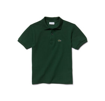 Kids' Short Sleeve Classic Piqué Polo Shirt