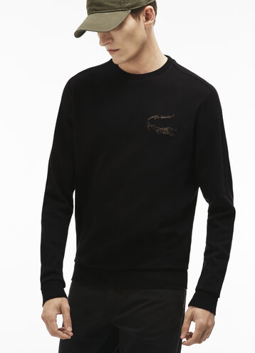 Men's Robert George Crocodile Crewneck Sweatshirt