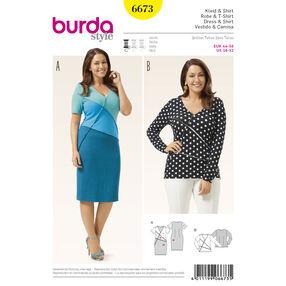 Burda Style Pattern 6673 Women's Shirt and  Dress