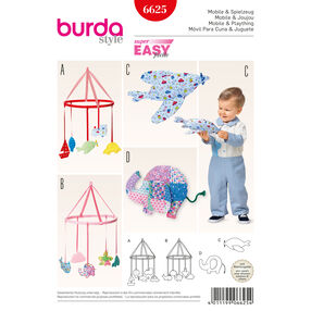 Burda Style Pattern 6625 Mobile and Plaything