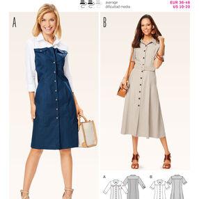 B6644 Misses' Dress