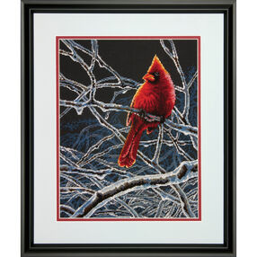 Ice Cardinal Counted Cross Stitch_70-35292