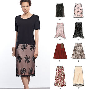 Misses' Skirts in Various Styles