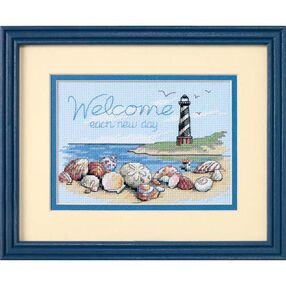 Welcome Each New Day, Counted Cross Stitch_65032