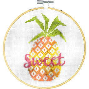 Sweet Pineapple, Counted Cross Stitch_72-75179