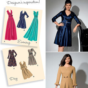 Misses'  & Plus Size Day to Evening Dresses