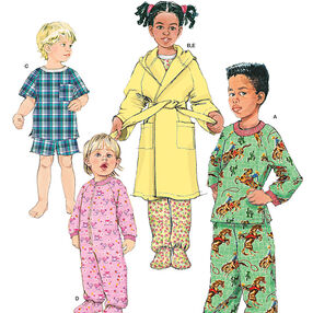 Toddlers' and Child's Sleepwear and Robe