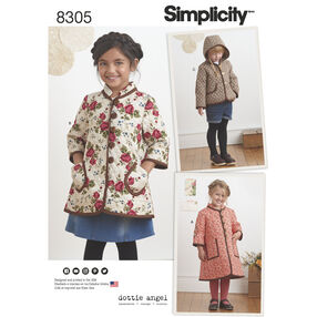 Simplicity Pattern 8305 Child's Coat and Jacket