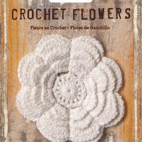 "3"" Crochet Flower Applique"