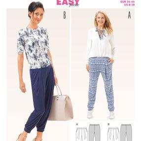B6665 Misses' Pants