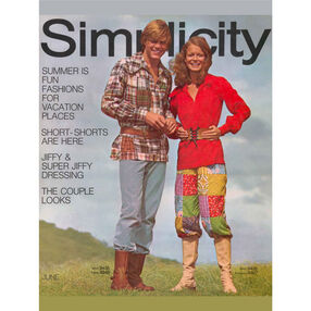 Simplicity Poster Vintage 1970s