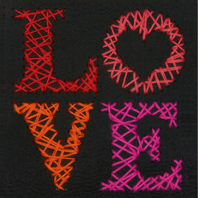 Love Yarn Art, Embroidery_72-74205