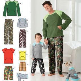 Boys' & Men's Loungewear & Dog Top