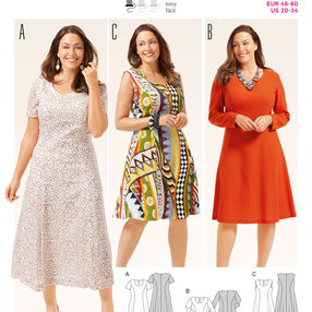 B6680 Women's Dress