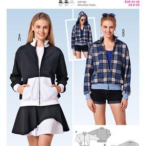 Burda Style Pattern 6799 Jackets, Coats, Vests