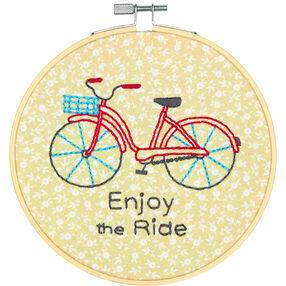 Bike Ride, Embroidery_72-74688