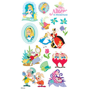 Alice In Wonderland Flat Stickers_53-00005