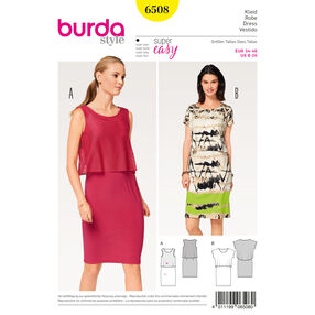 Burda Style Pattern B6508 Misses' Dress and Top
