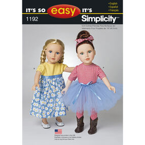 "It's So Easy Clothes for 18"" Doll"
