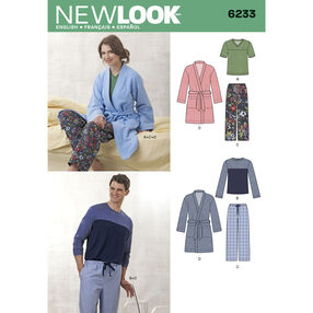 Unisex Pants, Robe and Knit Tops