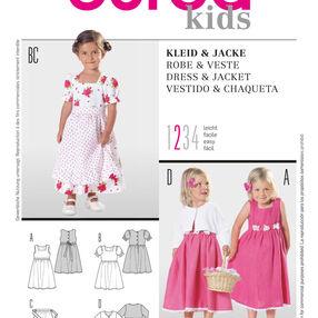 Burda Style Pattern 9702 Dress & Jacket