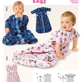 Burda Style Pattern 9382 Babies' Sleeping Bag