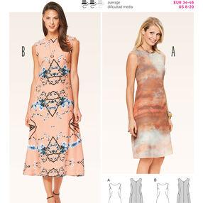 Burda Style Pattern 6807 Dresses
