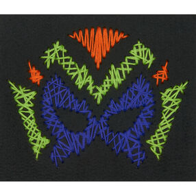 Hero Mask Yarn Art, Embroidery_72-74206