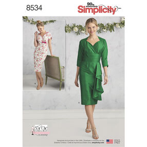 Simplicity Pattern 8534 Misses' Dresses