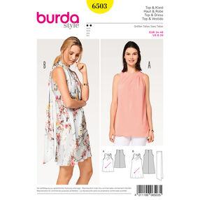 Burda Style Pattern B6503 Misses' Dress, Top and Scarf