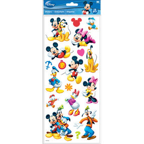 Mickey And Friends Flat Stickers_53-60028
