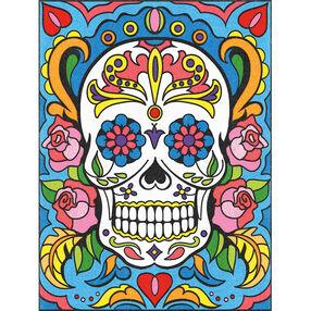 Sugar Skull, Pencil by Number_73-91494