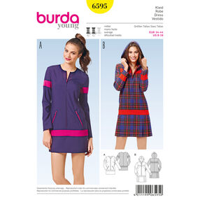 Burda Style Pattern 6595 Dress