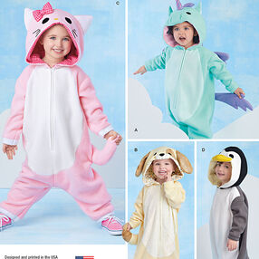 Toddlers' Animal Costumes