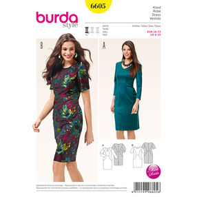 Burda Style Pattern 6605 Dress