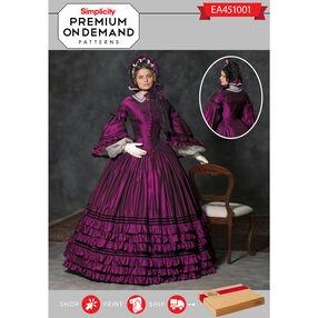 EA451001 Premium Print on Demand Costume Pattern