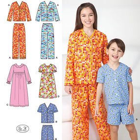 Child's, Girl's and Boy's Loungewear