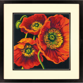 Red Poppy Trio, Paint by Number_73-91527