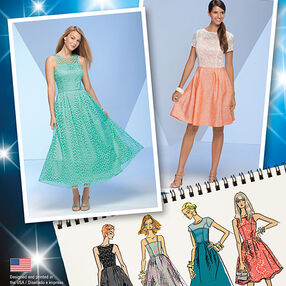 Misses' Project Runway Special Occasion Dresses