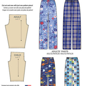 Child's, Teens' and Adults Pants