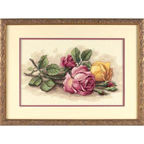 Rose Cuttings, Counted Cross Stitch_13720