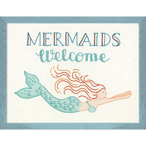 Mermaids Welcome, Embroidery_71-01566