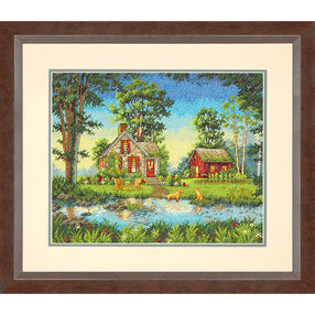 Summer Cottage, Counted Cross Stitch_70-35340