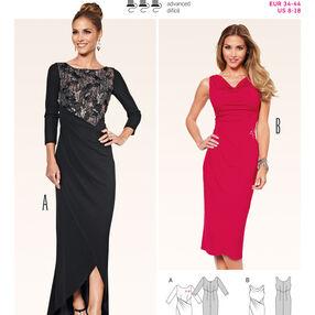 Burda Style Pattern 6867 Evening & Bridal Wear