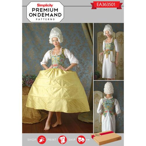 Ea363501 premium print on demand costume pattern for Premium on demand