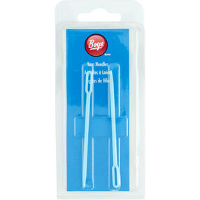 Boye Small Plastic Yarn Needles, 2 Count