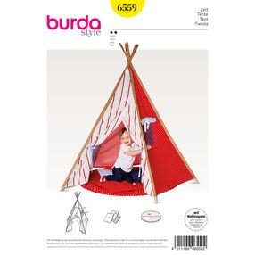 Burda Style Pattern B6559 Tipi Tent